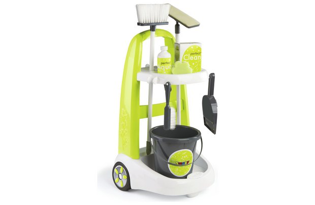 /let-s-pretend/smoby-cleaning-trolley