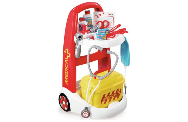 /let-s-pretend/smoby-medical-rescue-trolley
