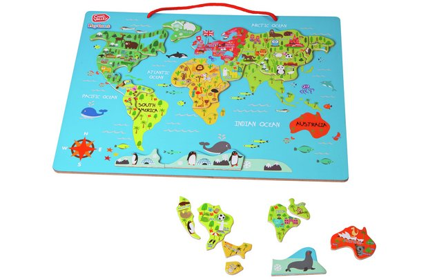 /pre-school/chad-valley-playsmart-magnetic-world-map