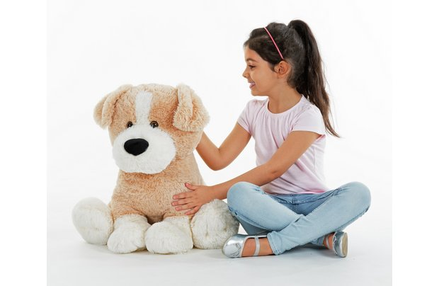 /fluffy-friends/chad-valley-fluffy-friends-sitting-dog-plush