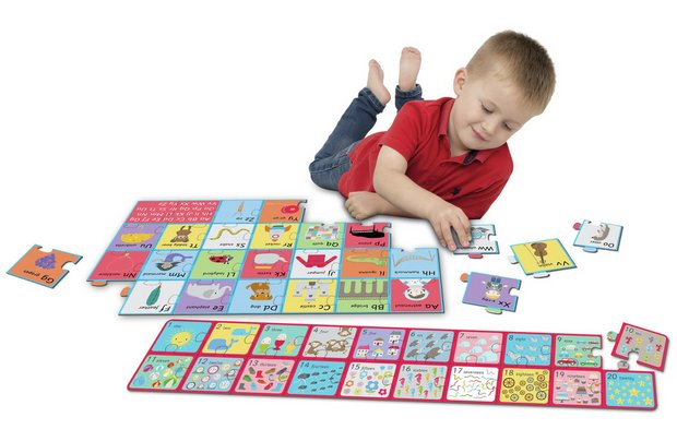/pre-school/chad-valley-playsmart-jumbo-alphabet-and-number-puzzles