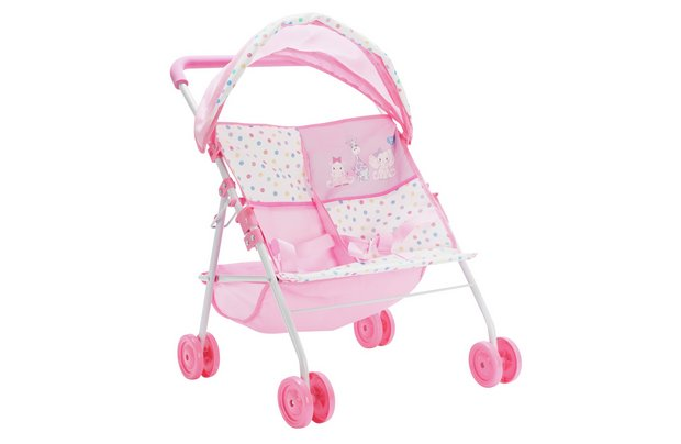 /babies-to-love/chad-valley-babies-to-love-twin-stroller
