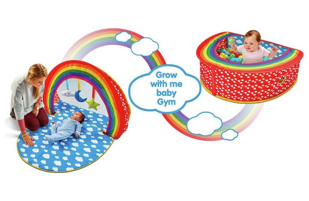 /baby/chad-valley-baby-2-in-1-play-gym-and-ball-pit