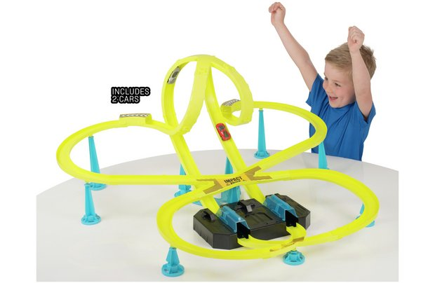 /vehicle-city/chad-valley-thunder-dome-race-track-set