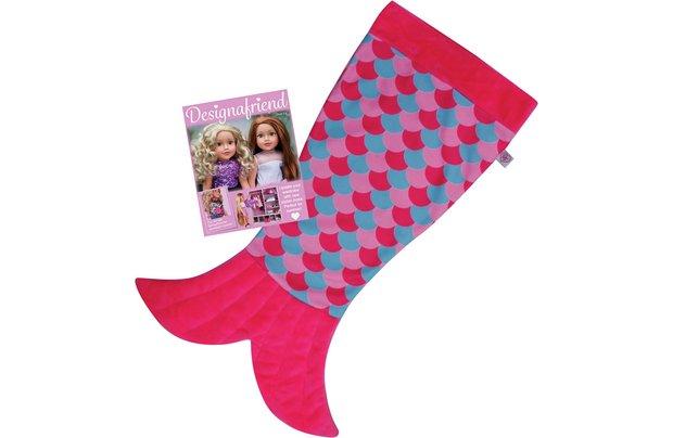 /designafriend/chad-valley-designafriend-mermaid-blanket-accessory-set