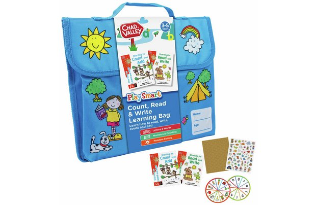 /pre-school/chad-valley-playsmart-count-read-and-write-learning-bag