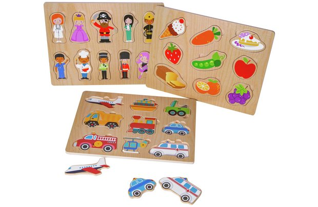 /pre-school/chad-valley-playsmart-wooden-puzzles-3-pack
