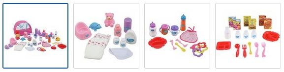 Chad Valley Babies to Love Deluxe Changing Bag Set Images
