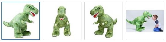 Chad Valley Dinosaur Soft Toy Images
