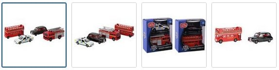 Chad Valley 4 inch Diecast Service Vehicles Set - Assorted Images