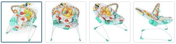 Chad Valley Jungle Friend Deluxe Bouncer Images
