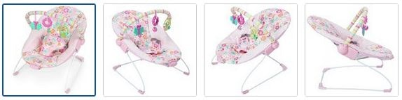 Chad Valley Princess Deluxe Bouncer - Pink Images