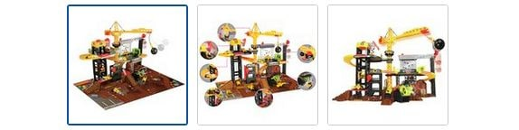 Chad Valley Lights and Sounds Construction Playset Images