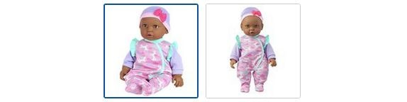 Chad Valley Babies to Love Cuddly Doll - Ava Images