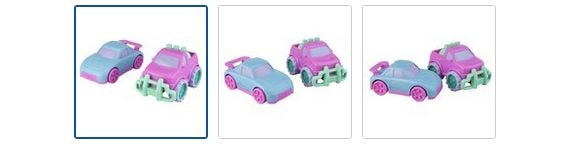 Chad Valley My 1st Vehicles Candy Car - 2 Pack Images