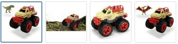 Chad Valley Dino Chaser Monster Truck Images