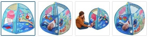 Chad Valley Sensory Play Gym Images