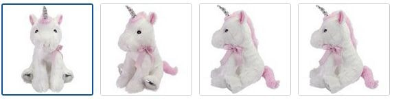 Chad Valley Dream Kingdom Unicorn Soft Toy Images