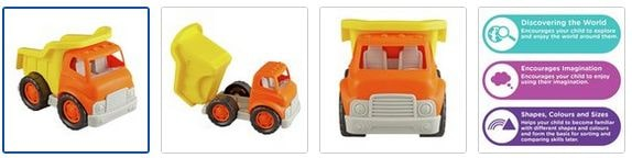 Chad Valley My 1st Vehicle Dump Truck Images
