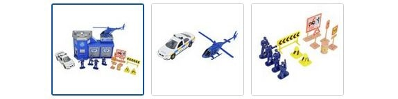 Chad Valley Auto City Police Station Playset Images