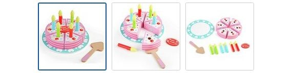 Chad Valley Wooden Birthday Cake Images