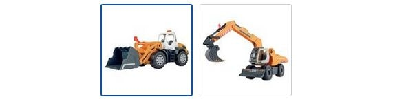Chad Valley Auto City L Construction Vehicle Assortment Images