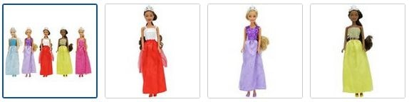 Chad Valley Sparkle Princess - 5 Pack Images