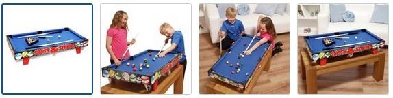 Chad Valley 3ft Table Top Pool Table Images