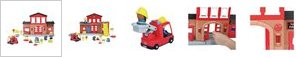 Chad Valley Tots Town Fire Station Playset