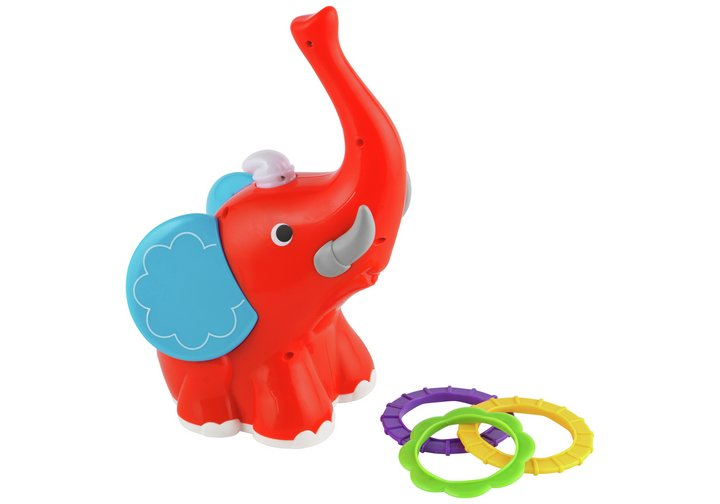 Chad Valley Lights and Sounds Elephant Hoop Game
