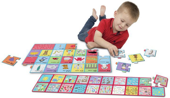 Chad Valley PlaySmart Jumbo Alphabet & Number Puzzles