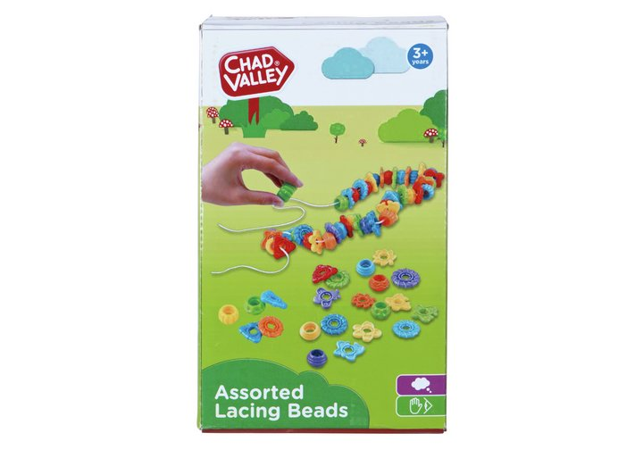 Chad Valley PlaySmart Lacing Beads Set