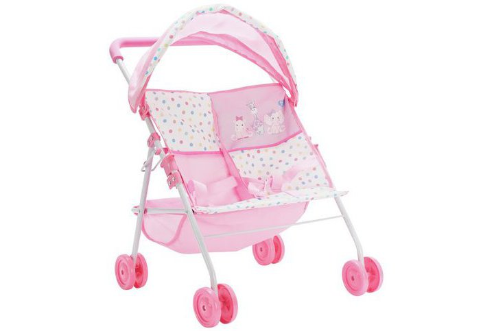 Chad Valley Babies to Love Twin Stroller