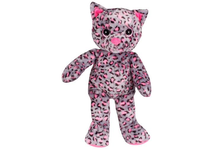 Chad Valley Designabear Sparkle Cat Soft Toy