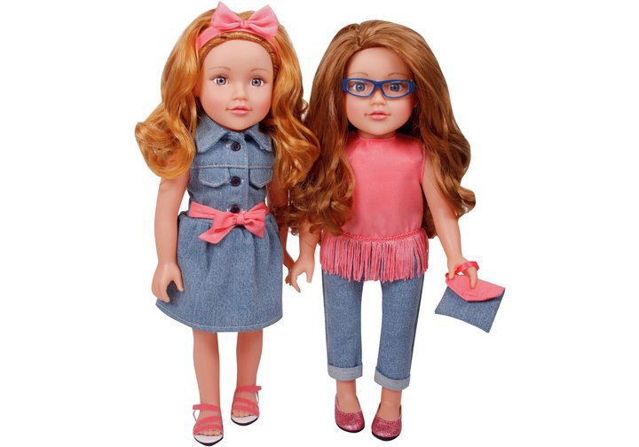 Chad Valley Designafriend Best Friend Dolls