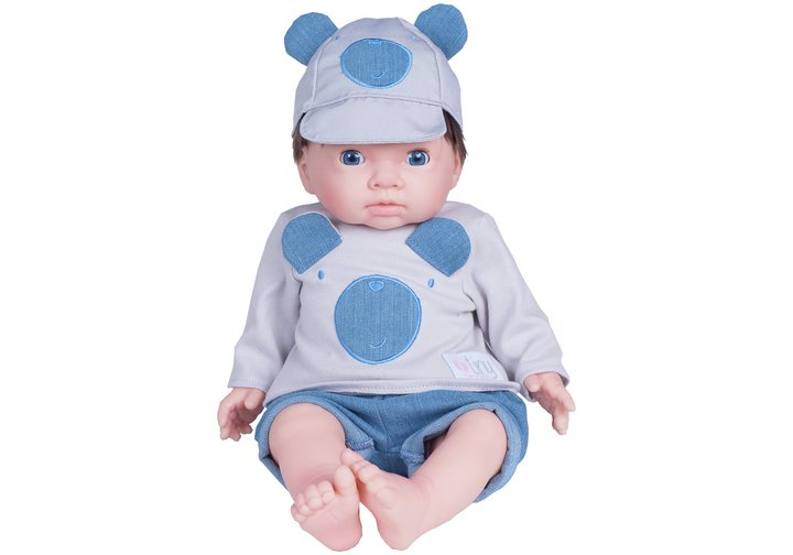 Chad Valley Tiny Treasures Denim Dungarees Outfit