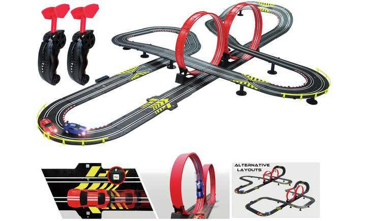Chad Valley Artin Evolution Superloop Speedway Track Set