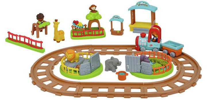 Chad Valley Tots Town Safari Train Playset