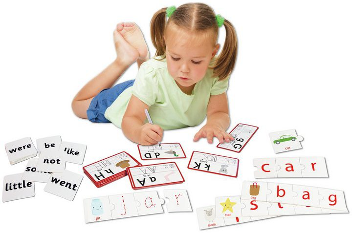 Chad Valley PlaySmart Spelling Cards - 90 Pack