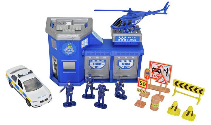 Chad Valley Auto City Police Station Playset