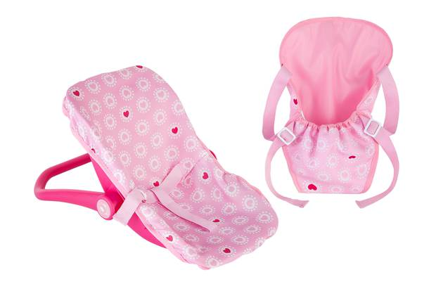 Chad Valley Babies To Love Carrier And Car Seat Set
