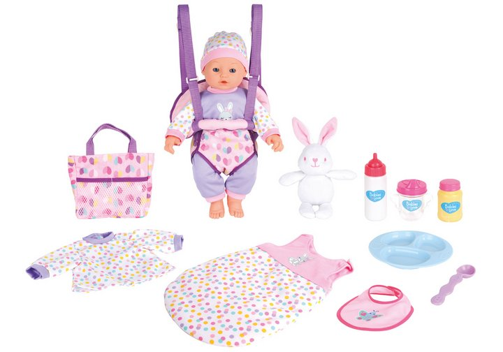 Chad Valley Babies to Love 16 Inch Baby Travelling Stunt Set