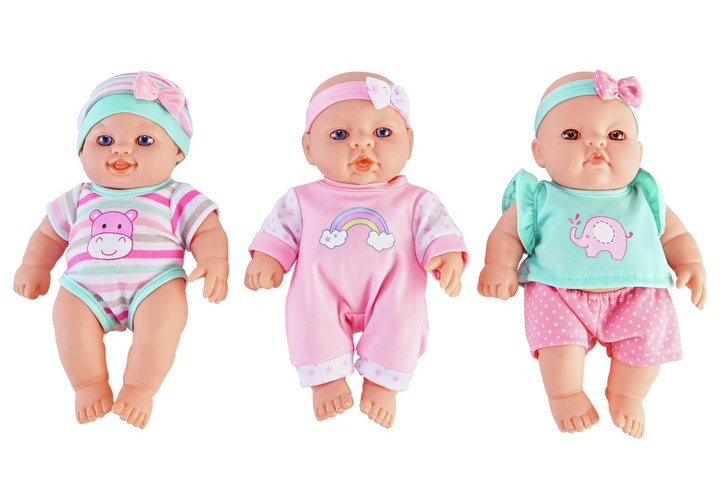 Chad Valley Babies to Love Triple Pack of Babies
