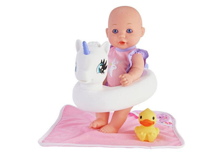 Chad Valley Babies to Love Unicorn Bath Set