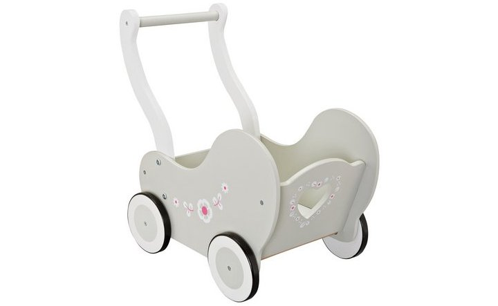 Chad Valley Babies to Love Wooden Doll's Pram