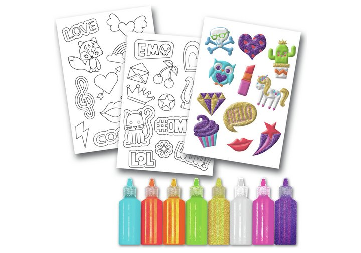 Chad Valley Be U Glitter & Shimmer Sticker Set