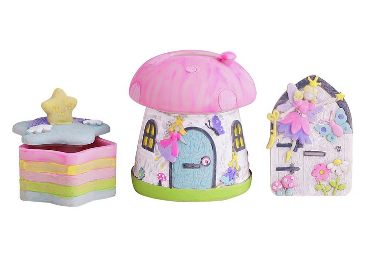 Chad Valley Be U Paint Your Own Fairy and Unicorn Set