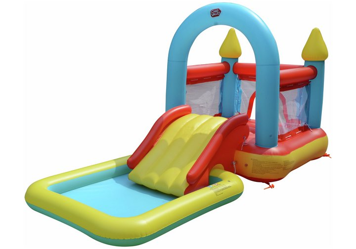 Chad Valley Bouncy Castle and Pool - 9ft 10in - 90 Litres