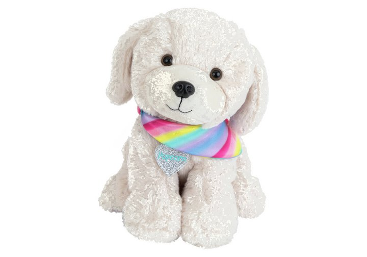 Chad Valley Bright Paws Popcorn the Retriever Soft Toy