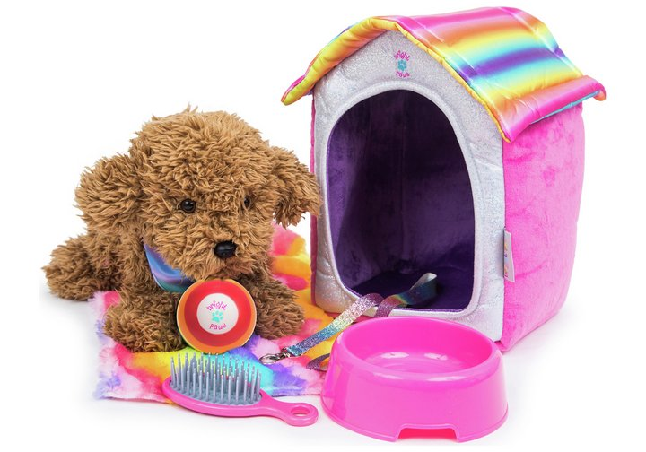 Chad Valley Bright Paws Sparkly Pet Home